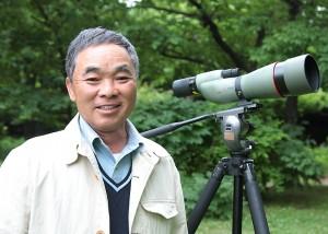 野鳥写真家・叶内拓哉先生とバードウォッチング
