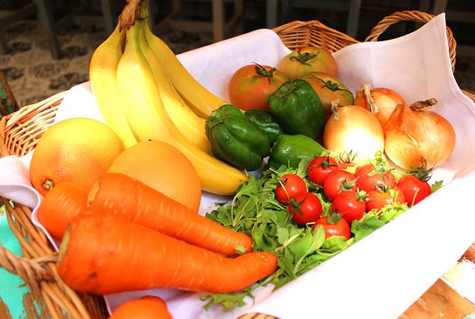 じゃがいも以外にも大地宅配の野菜がこれだけ使われています。