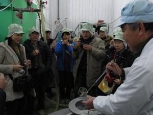 大地を守る会オリジナル純米酒「種蒔人」をお披露目in大和川酒造店