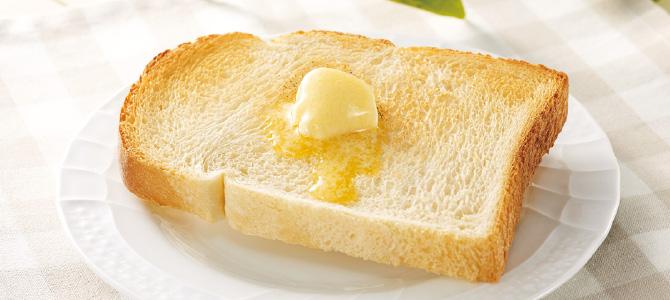 ザクセンの食パン6枚、ノーカット1コ