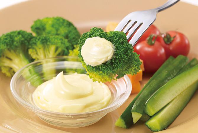 シンプルに作っているから、野菜のおいしさがぐっと引き立ちます。