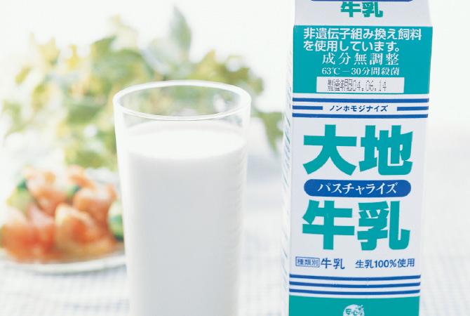 1982年に生まれた低温殺菌の「大地牛乳」