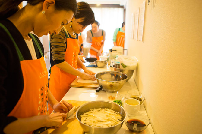 大人の遠足薬膳料理教室