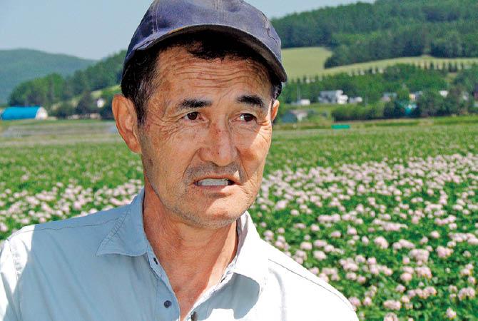 太田農園(北海道中富良野町)会長・太田順夫さん