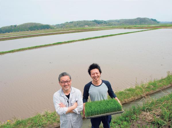 ジェイラップ代表・伊藤俊彦さん(左)。右は後継者の大輔さん。