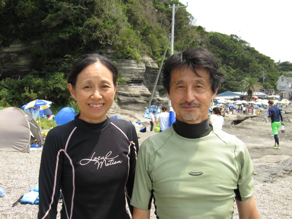 NPO法人アースマンシップの岡田夫妻