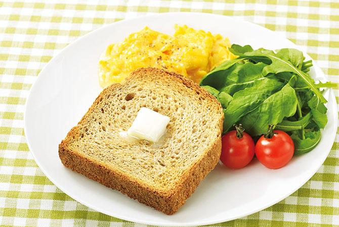 トーストしてバターをぬって食べれば、至福の味わい。体に染みいるおいしさです。
