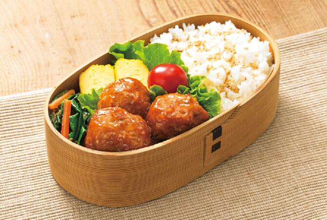 豆腐入りのふわふわ食感。甘酢ダレにごはんがすすみます