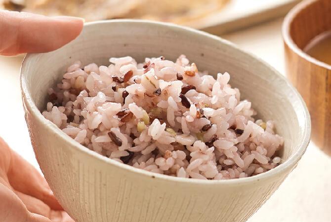 12種類の穀物で栄養バランスアップ