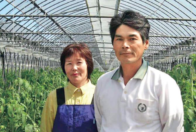 福島わかば会の小針清志さんと妻・良子さん