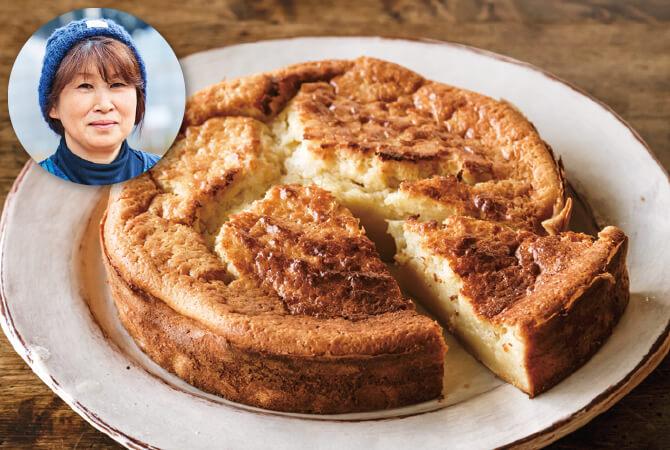 ホットケーキミックスで「季節のケーキ」(さんぶ野菜ネットワーク 富谷 和美さん)