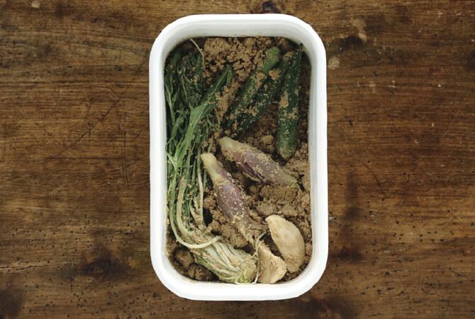 水菜、みょうが、オクラ、生姜!どんな野菜でもおいしくなります