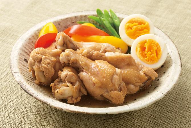 野菜やゆで卵を入れて彩り良く。酢で煮るとさっぱりとしてこれからの季節にぴったり!