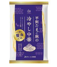 大地を守る会の『平飼たまご麺の冷やし中華(醤油だれ)』