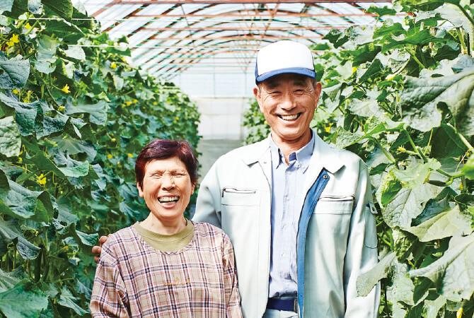 福島わかば会 鈴木正幸さん(右)栄子さん(左)