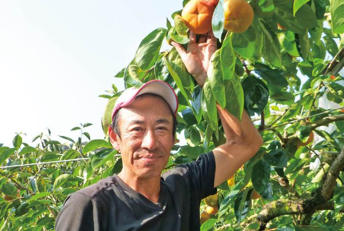王隠堂農園 奈良県五條市 仁司与士久さん