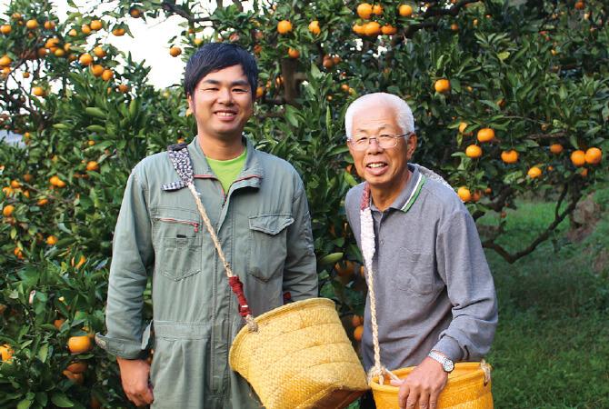 川端 宏幸さん(左)川端 敬さん(右)親子