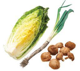 大地を守る会の『あまトロ深谷ねぎの鍋野菜きのこセット』