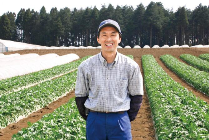 さんぶ野菜ネットワーク代表の富谷亜喜博さん