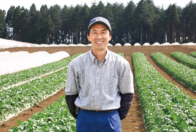千葉県山武市 さんぶ野菜ネットワーク 富谷亜喜博さん