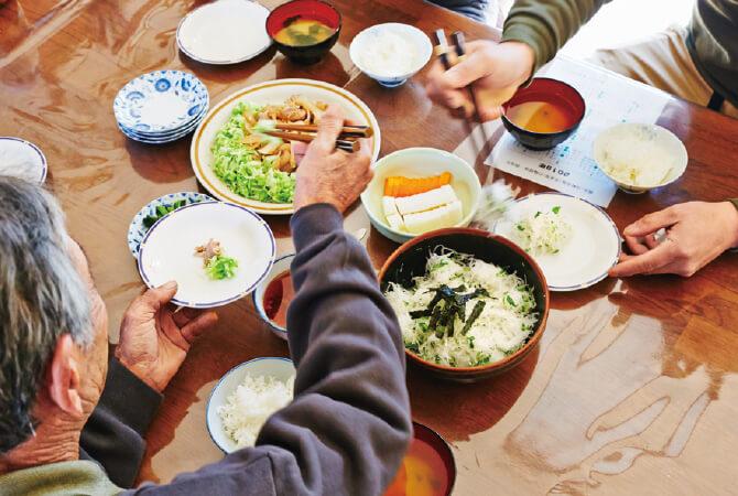 その日の朝の採れたて野菜で朝食~山田 光昭さんの旬の大根おかず~