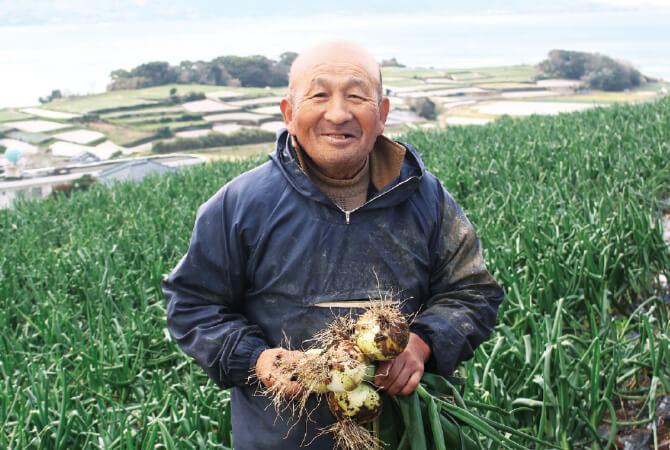 長崎有機農業研究会の松尾 和昭さん