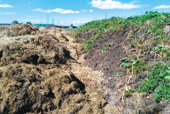 2年をかけて仕上げた自家製堆肥