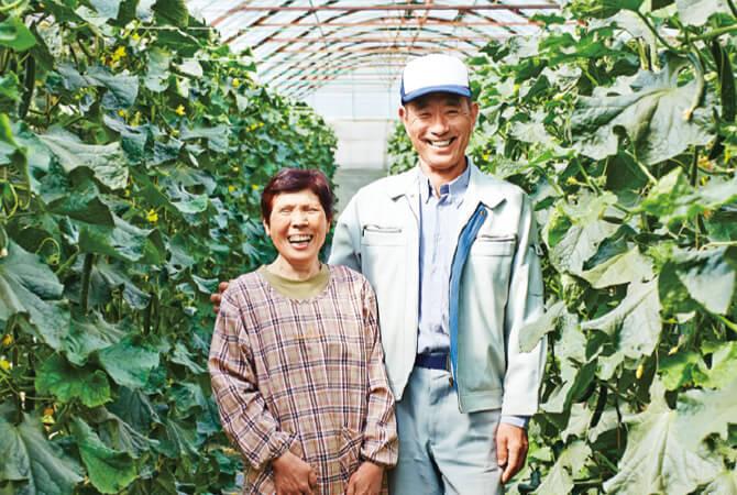 福島県郡山市 福島わかば会 鈴木正幸さん(右)栄子さん(左)