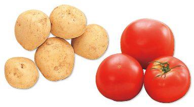 大地を守る会の『九州の新じゃがいも・500g&有機トマト・400g』