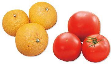 大地を守る会の『樹上で完熟させたさわやか甘夏・800g&有機トマト・400g』