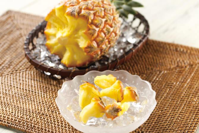 国産のパイナップル、ボゴールパインイメージ写真