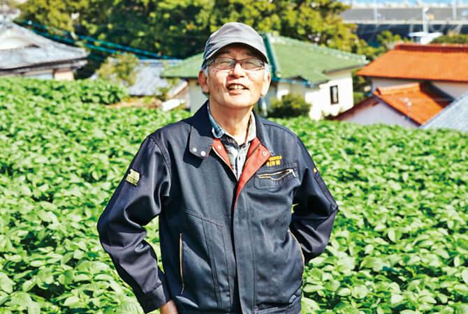 九州の新じゃがいもの生産者、長崎県南島原市 長崎有機農業研究会 田口康文さん