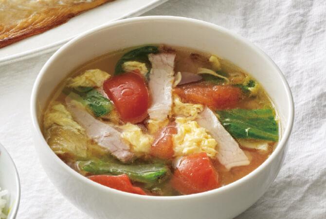あさつゆレタスのスープ