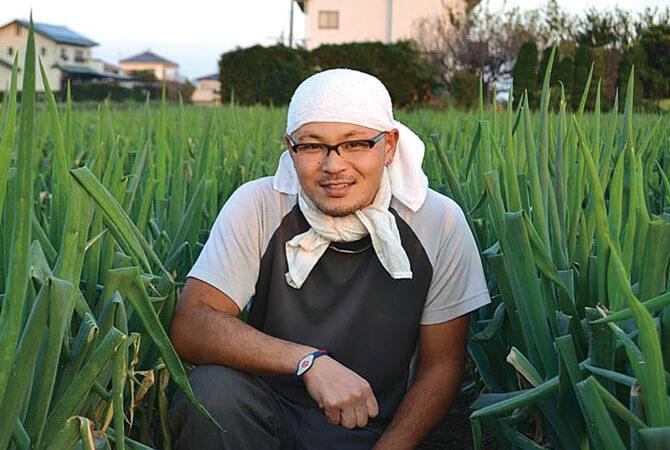 『とうもろこし』の生産者、埼玉県深谷市 黒沢グループ 黒沢雅樹さん