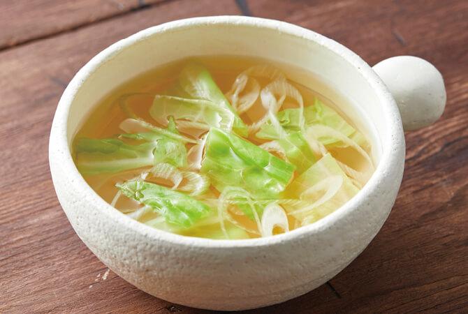 あま夏キャベツのスープ