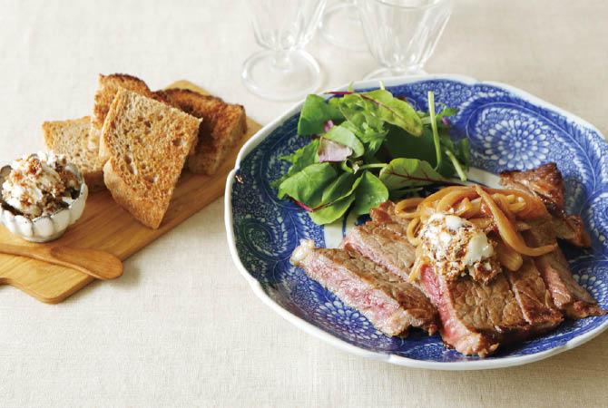 イチジクバターの秋味ステーキ