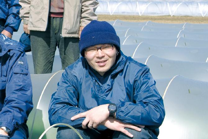 ブロッコリー生産者、埼玉県深谷市黒沢グループ 黒沢雅樹さん