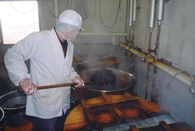 昔ながらの伝統製法で作る『安田さんの手作り昆布佃煮』