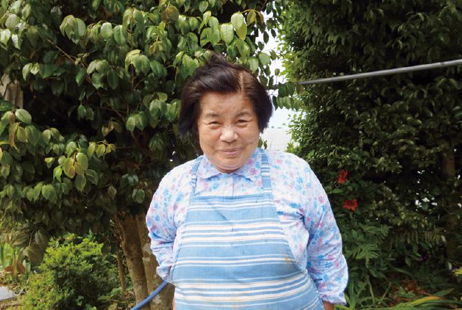 鹿児島の安納芋(紅または黄金)生産者、鹿児島県西之表市かごしま有機生産組合 戸川蓉子さん