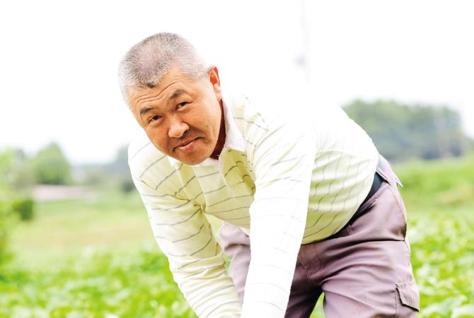 濃厚あま蜜さつまいも・紅はるか 生産者、茨城県行方市 堀田信宏さん