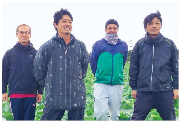 ブロッコリー生産者、愛知県田原市 天恵グループの皆さん