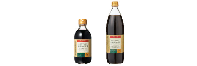 特級 大地を守る会の木桶熟成醤油(国産丸大豆)