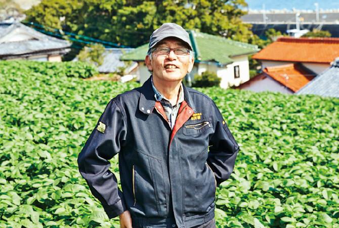 九州の新じゃがいも生産者、長崎県南島原市 長崎有機農業研究会 田口康文さん