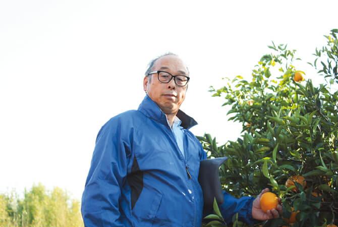 夏みかん生産者、静岡県静岡市 望月美秀さん