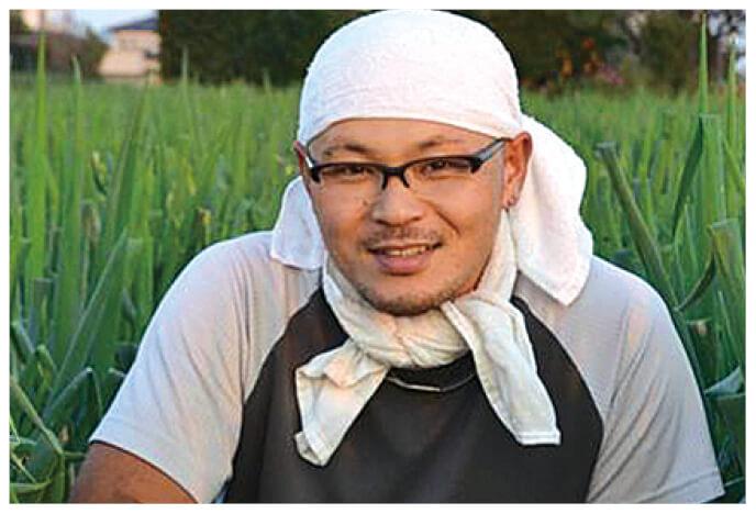 とうもろこし生産者、埼玉県深谷市 黒沢グループ 黒沢雅樹さん