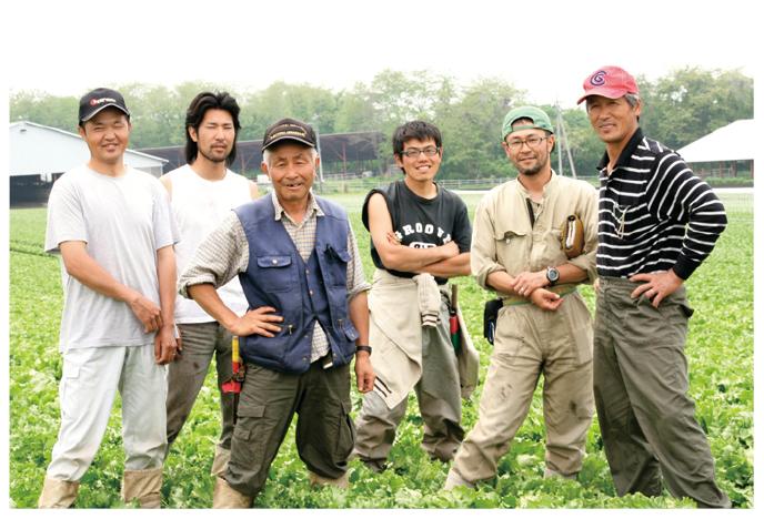 あま夏キャベツ生産者、群馬県吾妻郡 北軽井沢有機ファミリーの皆さん