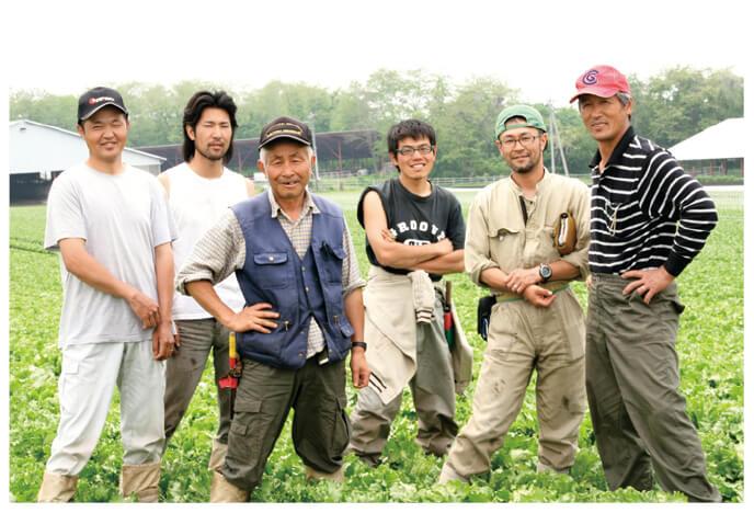 あま夏キャベツ生産者、群馬県長野原町 北軽井沢有機ファミリーの皆さん