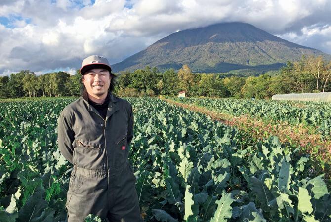 北海道のブロッコリー生産者、北海道真狩村 ベジタブルワークス 佐々木伸さん