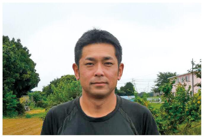 れんこんの生産者、茨城県常総市常総センター 木間塚祐一さん