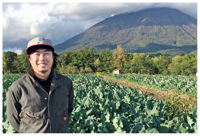北海道のとうもろこしの生産者、北海道真狩村 ベジタブルワークス 佐々木伸さん